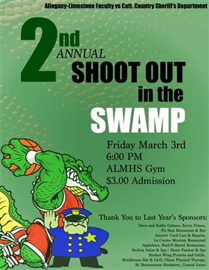 shoot out in the swamp