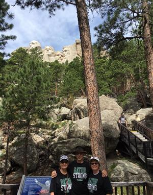 Retired Teachers at Mt. Rushmore